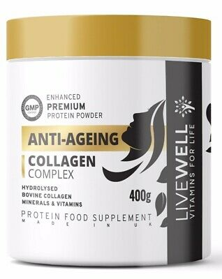 Anti-Ageing Collagen Protein Powder – Bioflavonoids, Amino, Vitamins & Minerals