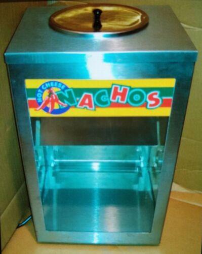 APW Nacho Chip & Popcorn Warmer Merchandiser case with Display light NC-1A