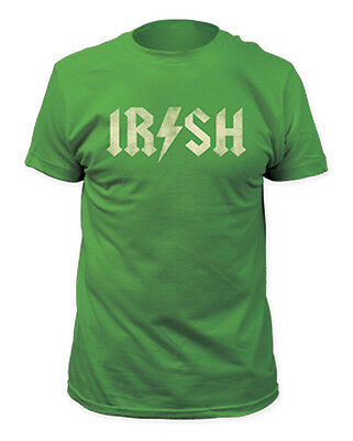 (St. Patrick's Day Irish Lighting Bolt Green Men's T-Shirt)