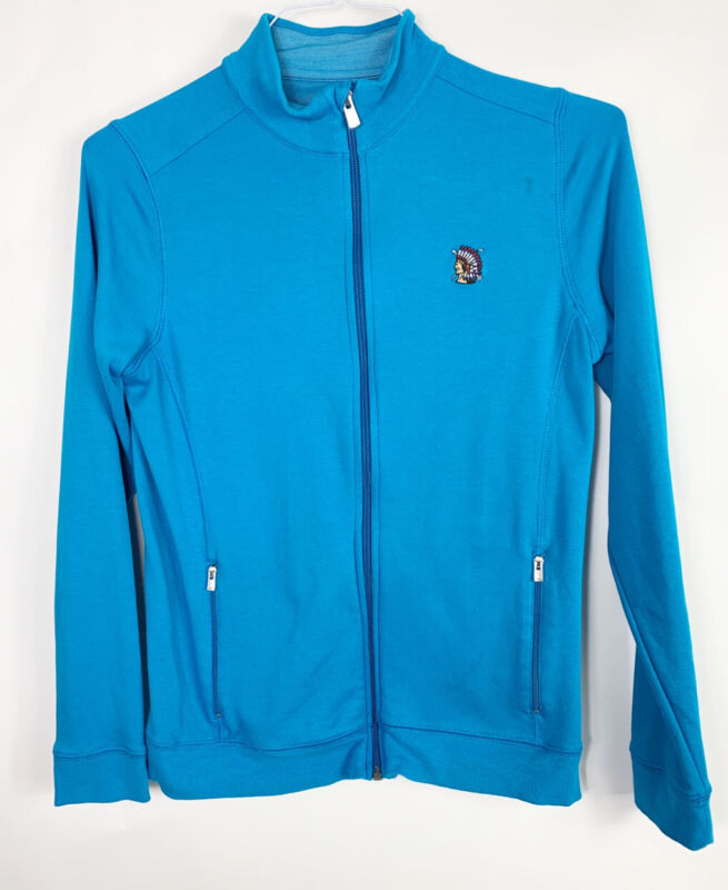 PETER MILLAR  SHINNECOCK HILLS Full Zip Jacket Women's Medium Blue