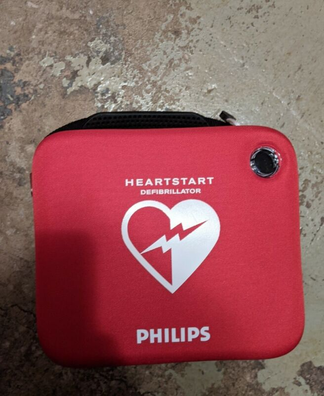 Philips HeartStart FRx AED, BATTERY, NEW PADZ, FULLY TESTED, & CASE