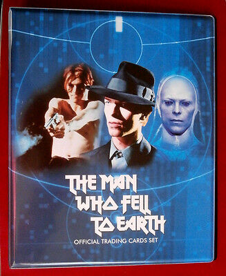 DAVID BOWIE, The Man Who Fell To Earth - Ultra Rare Official Trading Card Binder