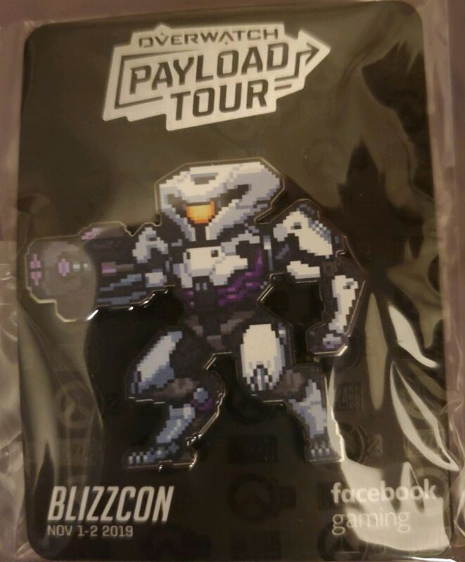 Blizzcon 2019 Overwatch Payload Tour Pin