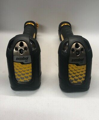Lot Of 2x Symbol Ls3408-fz20005r Handheld Industrial Barcode Scanner - No Cables