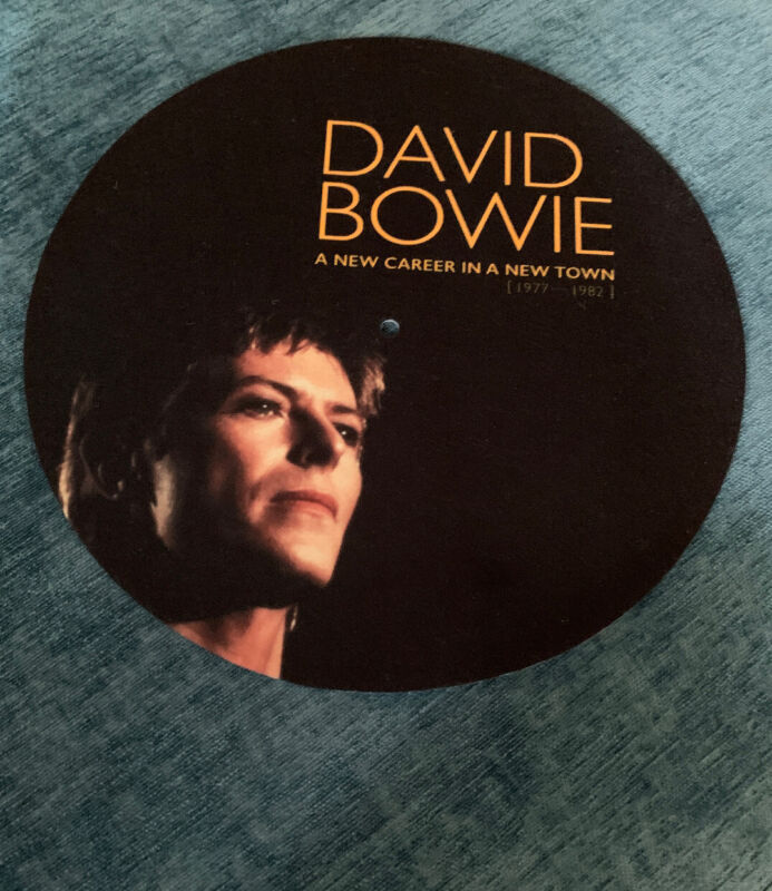 David Bowie Promo Turntable Slip Mat New And Unused A New Career In Town