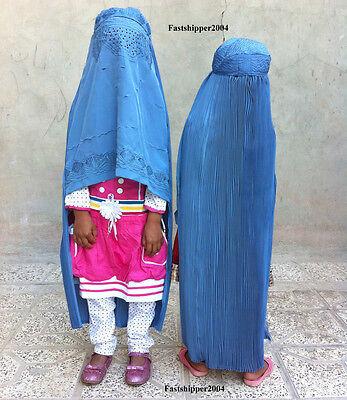 Afghanistan Burka Hijab Niqab Chador Abaya Doll Muslim Kids Children Girls Islam