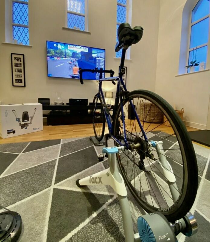 Tacx Flow T2240 Indoor Home Cycling Bluetooth Smart Turbo Trainer