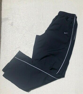 Nike Navy Blue Basketball Zip Leg Pants Men's Clothes Size Large EXCELLENT