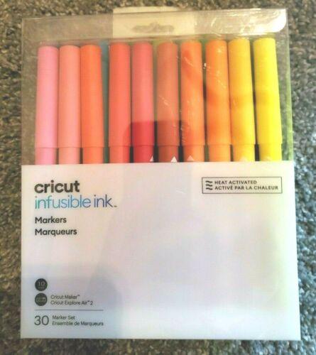 Cricut Infusible Ink Marker Set 30 Pack Explore Air 2 Maker Pens