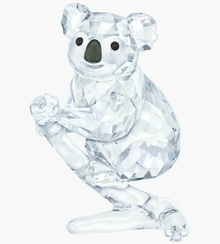 New in Box Swarovski Koala Bear Clear Crystal #5271914