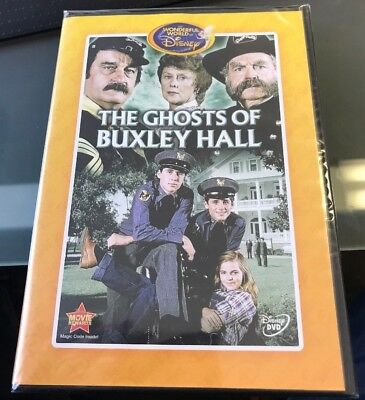 NEW Disney The Ghosts of Buxley Hall DVD Kid Friendly Family Comedy Ghost - Kids Ghost Movies