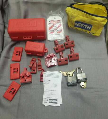 North Honeywell lockout tagout safety kit