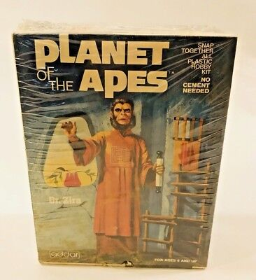 Planet of The Apes Dr. Zira Addar Model Kit Sealed New In Box 1974 RARE