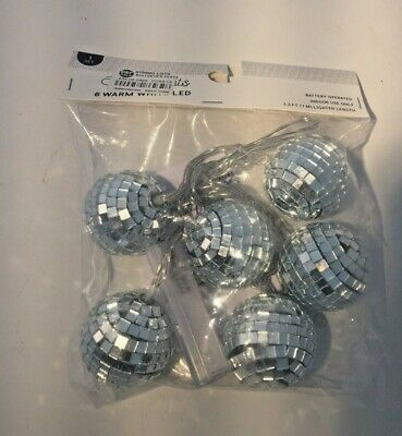Disco Ball Indoor String Lights - In Package - Disco Ball String Lights