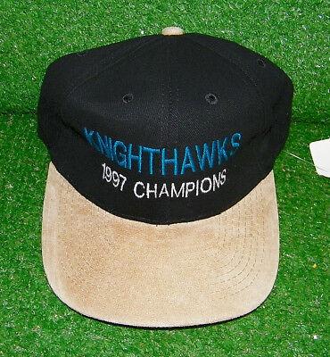 ca3a7bfa52bd8 ROCHESTER KNIGHTHAWKS LACROSSE HAT 1997 CHAMPIONS - SHIPS FAST