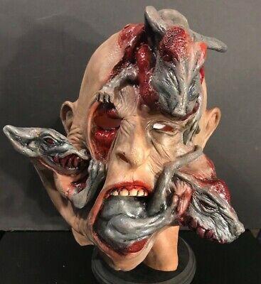 Rat Head HALLOWEEN ADULT LATEX  MASK Hollywood Halloween VERY RARE!