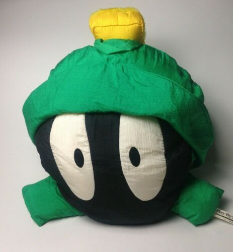 Vintage Marvin the Martian Pillow 1995 Looney Tunes