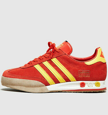 Adidas Originals Kegler Super Women ® ( Size UK: 4 EUR 36.5 ) Red / Gold NEW