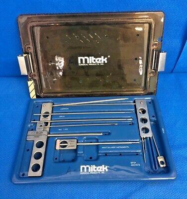 Mitek 215550 Arthroscopy Set Knot Delivery Instrumentsanchorsguides Surgical