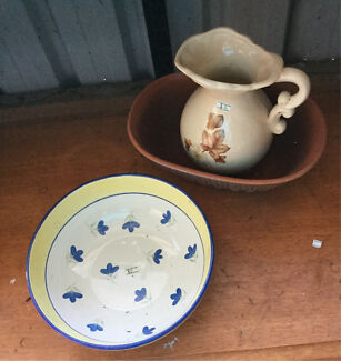 Two bowls and a delightful jug