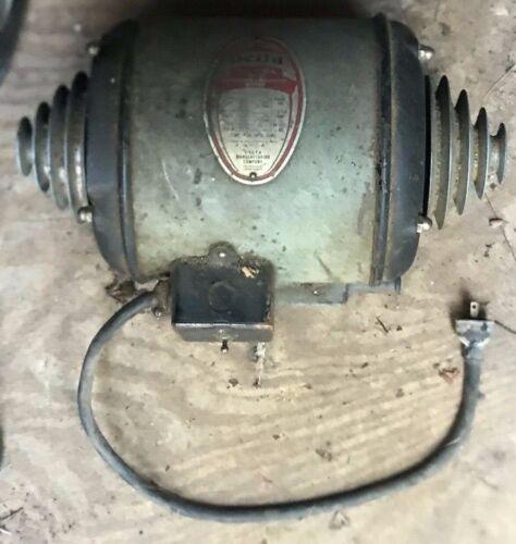 Delta Ball Bearing 1/2 HP Repulsion Induction Motor - Serial No 0-5002-A Type SR