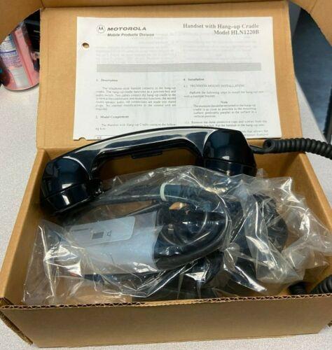 Motorola Radio Privacy Handset w/ hang up cradle NEW