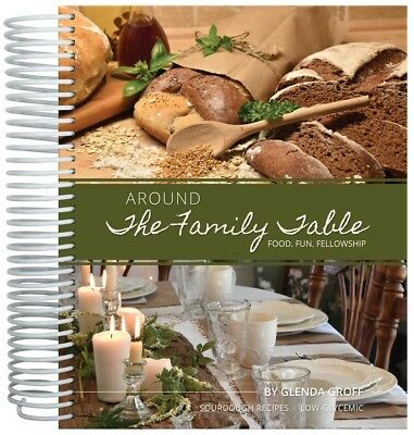 Around the Family Table-Food-Fun-Fellowship Cookbook, sugar-free, low-glyecemic