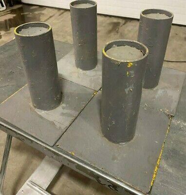 8 Heavy Duty 4 Restaurant Equipment Machine Legs Mounting Pad Industrial Legs