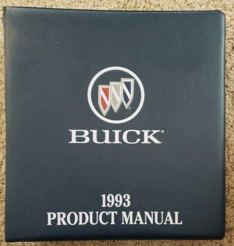 1993 Buick Product Manual - Sales - Dealer