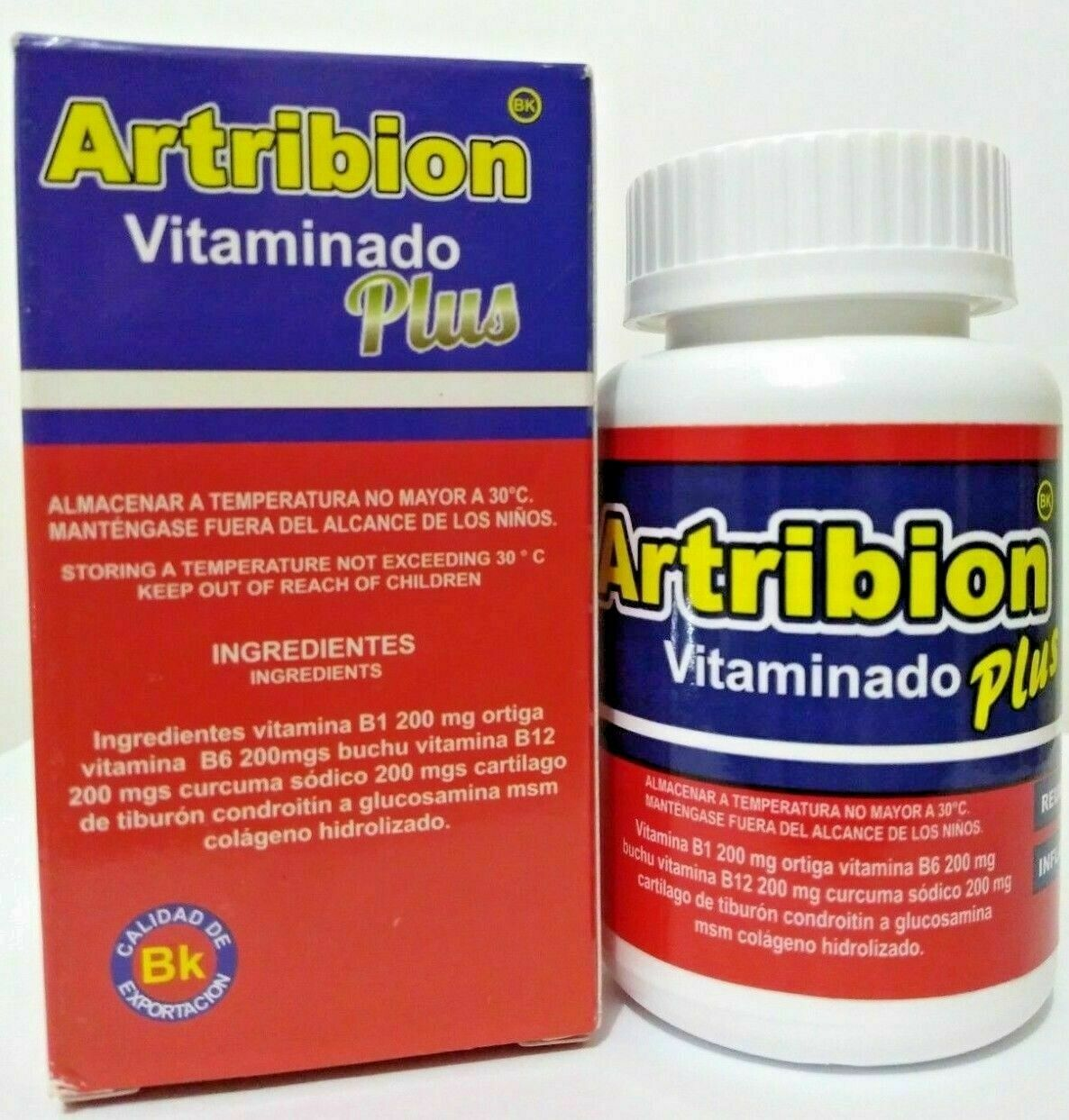 ARTRIBION Vitaminado Plus Artritis, Inflamacion, Dolor, Reumatismo, 30Capsules