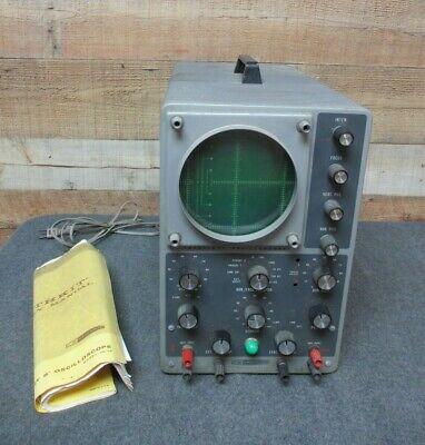 Vintage Heathkit Oscilloscope Model 10-12