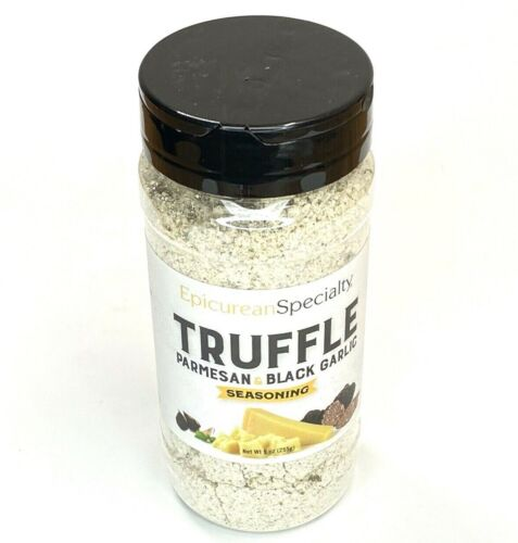 Epicurean Specialty Truffle Parmesan and Black Garlic Seasoning 9 oz. Ex12/31/23