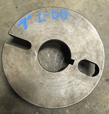 Balance-able 7 L-00 Dog Drive Face Plate Chuck Backing Clausing Southbend Logan