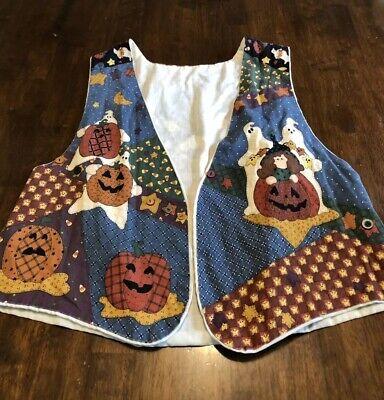 Homemade Halloween Costume For Men (Homemade Halloween Vest Size Medium Large Sleeveless Open Front)