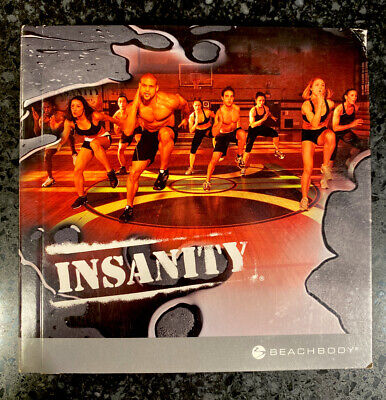 Insanity Workout DVD Set 10 DVD Set