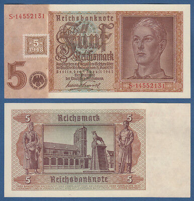 DDR 1948  5 Mark KASSENFRISCH / UNC , Ro.333 b / P.3