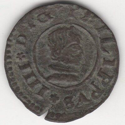 1662 Spain 16 Maravedis Coin | European Coins | Pennies2Pounds