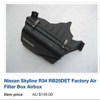 Wanted: R34 Factory airfilter
