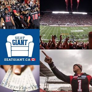OTTAWA REDBLACKS TICKETS - All Games Available!