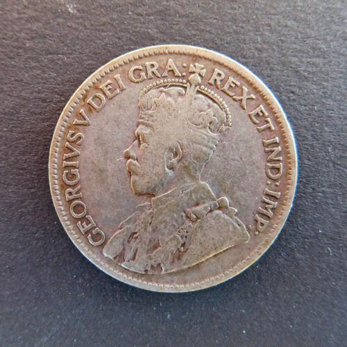 Canada 1929 Twenty-Five Cent King George V .800 Silver KM 24a Fine Condition