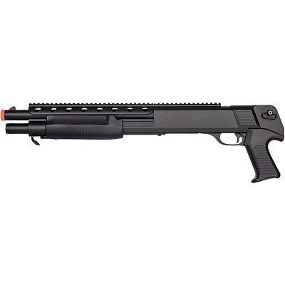 450 FPS DOUBLE EAGLE SPRING AIRSOFT PUMP ACTION SHOTGUN RIFLE GUN w/ 6mm BB BBs ()