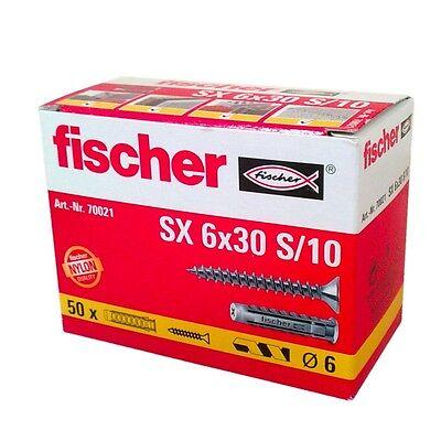 fischer Spreizdübel  SX 6 x 30/S10   (070021)