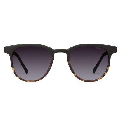KOMONO Francis Unisex Sonnenbrille Matte Black/Tortoise KOM-S2257