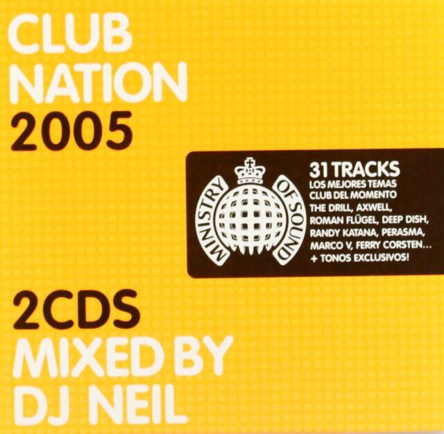 Club Nation Ministry of Sound 2005 Mixed by DJ NEIL Paul Van Dyk Depp Dish 2CD