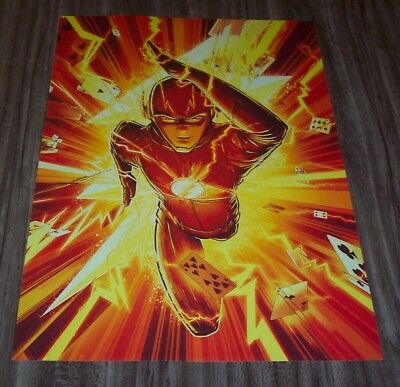THE FLASH Dc Comics CW NEW YORK COMIC CON EXCLUSIVE PROMO POSTER ART PRINT