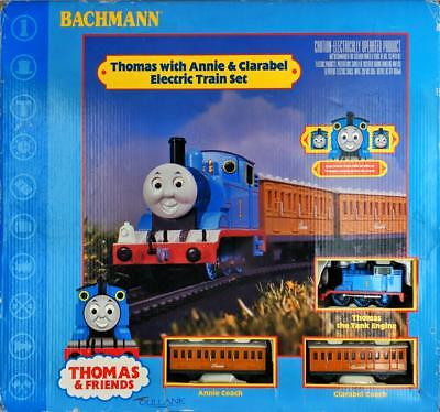 Clarabel Electric Train Set (Thomas And Friends Thomas, Annie, & Clarabel Bachmann Electric HO Train Set)