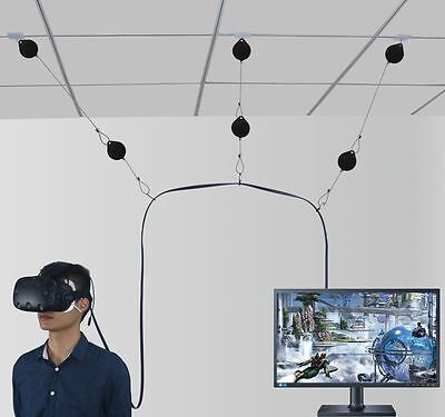 VR Cable Management System for HTC VIVE  Virtual Reality Headset