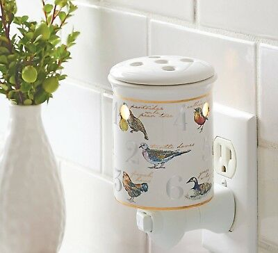 Better Homes and Gardens 12 Days of Christmas Wax Warmer New in (Best Bathroom Wall Heater)