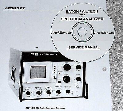 Ailtech 727 Spectrum Analyzer Service Manual