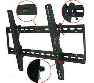 NEW-LCD-LED-PLASMA-FLAT-TILT-TV-WALL-MOUNT-30-32-37-42-46-50-52-55-60-64-BLACK